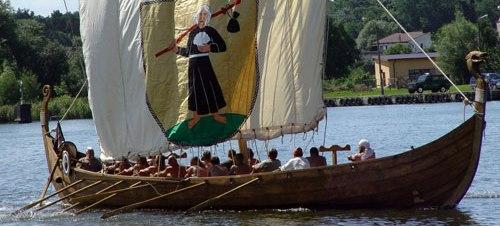 Snekkja Viking longship